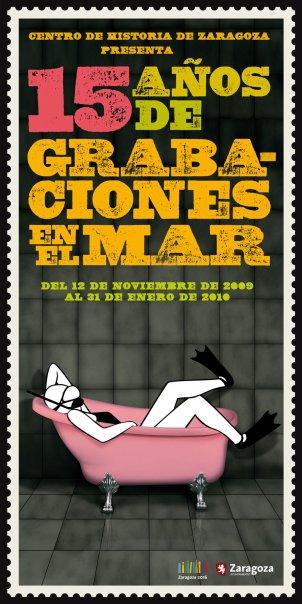 CartelExposicianGrabacionesEnElMarNoviembre2009
