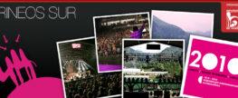 Descarga 29/04/10. Reportaje de la presentación del cartel de Pirineos Sur / Sexto repaso de grupos del concurso de canciones aragonmusicalradio.com. Edición Nº151.